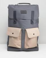 Artsac Workshop Contrast Twin Pocket Backpack