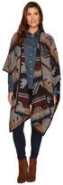Stetson 1478 Color Aztec Wrap Cardigan Women's Sweater