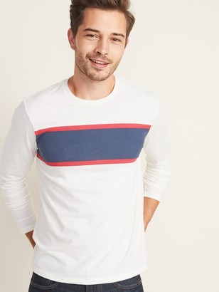 Old Navy Soft-Washed Chest-Stripe Tee for Men