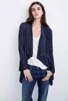 Catherine Textured Knit Open Cardigan