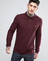 Lyle & Scott Long Sleeve Plain Polo Shirt