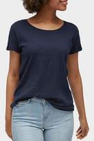 Tom Tailor Navy Slub T-Shirt