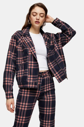 Wrangler Womens Check 80S Jacket By Multi