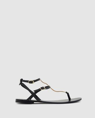 Ravella - Women's Black Sandals - Saskia - Size One Size, 36 at The Iconic