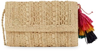 Mar y Sol Anabel Woven Crossbody Bag