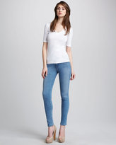 J Brand Jeans 811 Coastal Mid-Rise Skinny Jeans