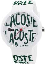 Lacoste Unisex Quartz Watch with Multicolour Dial Analogue Display and Multicolour Silicone Strap 2020055