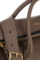 Miu Miu Textured-leather tote