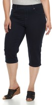 Just My Size Plus Size Pull-On Capri Jeggings
