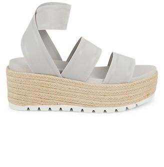 J/Slides Quartz Elastic Platform Sandals