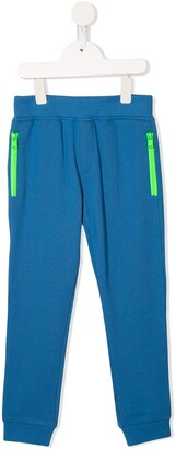 Stella McCartney contrast zip pocket track pants