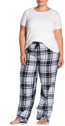 Joe Fresh Plaid Drawstring Pajama Pants (Plus Size)