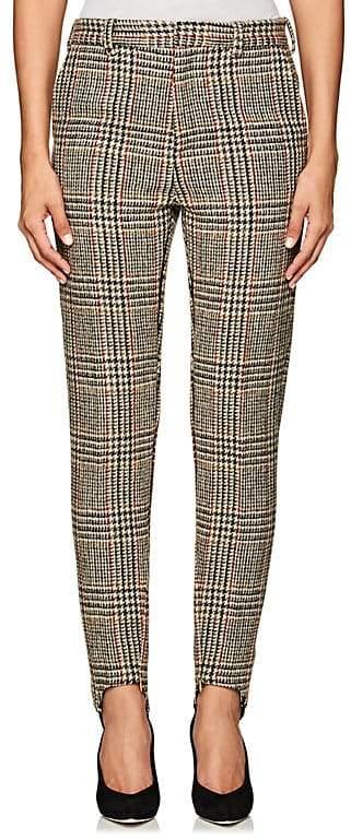 Y/Project Women's Plaid Wool Skinny Trousers