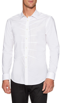 Alexander McQueen Woven Ribcage Dress Shirt