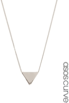 Asos Ditsy Triangle Charm Necklace
