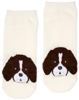 Dotti Fluffy Face Beagle Sock