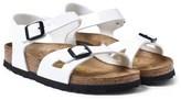 Birkenstock Pearl White Rio Sandals