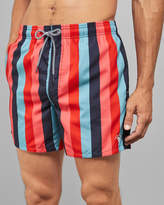 Ted Baker POPON Vertically striped swim shorts
