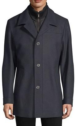 HUGO BOSS Regular-Fit Barelto Wool-Blend Trench Coat