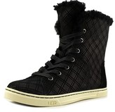 UGG Croft Double Diamond Round Toe Leather Boot.