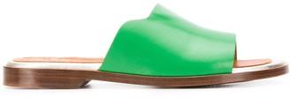 Chie Mihara Wekuma round toe slides