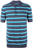 Kiton striped polo shirt - men - Silk/Linen/Flax - L
