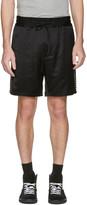 Marc Jacobs Black Side Stripes Shorts