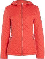 Lauren Ralph Lauren Hooded zip front jacket