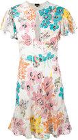 Just Cavalli - mini-robe à fleurs