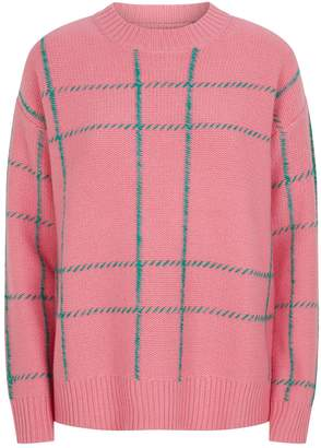Chinti and Parker Wool Check Sweater