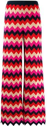 M Missoni Zigzag Knit Trousers