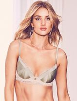 Marks and Spencer Silk & Lace Padded Plunge Bra A-E