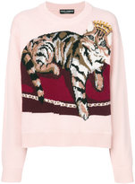 Dolce & Gabbana Zambia embroidered sweater
