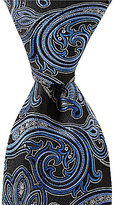 Daniel Cremieux Twin Paisley Traditional Silk Tie