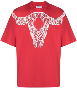 Marcelo Burlon County of Milan buffalo-print cotton T-shirt