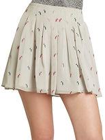 BCBGeneration Box-Pleat Miniskirt