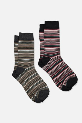 Cotton On Dress Socks 2 Pack