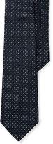 Ralph Lauren Purple Label Silk Grenadine Narrow Tie