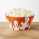 Crate & Barrel Halloween Ghost Melamine Treat Bowl