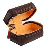 Stow Personalized Leather Travel Cufflink Box