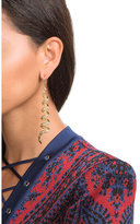 Alberta Ferretti Embellished Earrings