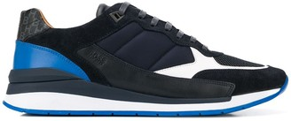 HUGO BOSS Quilted Panel Low-Top Sneakers