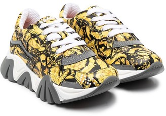 Versace Baroque Printed Sneakers