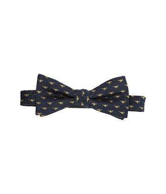 Cufflinks Inc. Lamp Scattered Navy Bow Tie