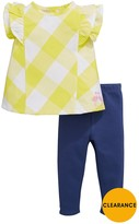 Ladybird Baby Girls Woven Top And Legging Set