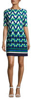 Eliza J Geometric Shift Dress