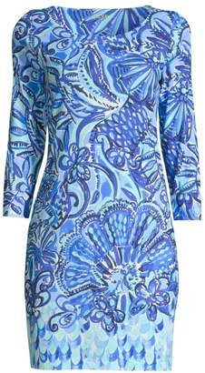 Lilly Pulitzer Hollee Printed Cotton T-Shirt Dress