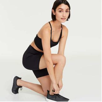 Joe Fresh Women's Midi Active Shorts, JF Black (Size S)