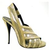 "Pierre Hardy 2193"" Gold Mesh Sandal"