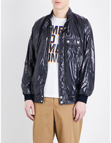 Stella Mccartney Patent Bomber Jacket